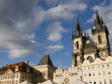 Kisky Palace and House of the Stone Bell on the Old Town Square  Prague  Czech Republic