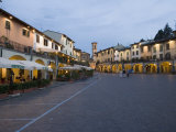 Market Square of Greve in Chianti  Tuscany  Italy  Europe
