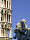 Leaning Tower of Pisa  UNESCO World Heritage Site  Pisa  Tuscany  Italy  Europe