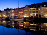 Nyhavn  Copenhagen  Denmark  Scandinavia  Europe