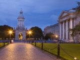 Trinity College  Early Evening  Dublin  Republic of Ireland  Europe