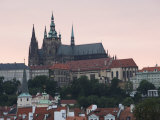 St Vitus's Cathedral  Royal Palace and Castle  Old Town  Prague  Czech Republic