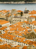 Red Tiled Roofs  Dubrovnik  Dalmatia  Croatia  Europe