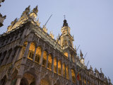 Evening  Musee De La Ville De Bruxelles  Grand Place  Brussels  Belgium  Europe