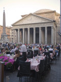 Rotonda Square and Pantheon  Rome  Lazio  Italy  Europe