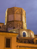 Tower  El Miguelet  Belfry  Cathedral  Evening  Valencia  Mediterranean  Costa Del Azahar  Spain