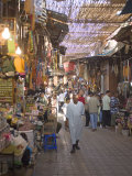 Souk  Marrakech  Morocco  North Africa  Africa