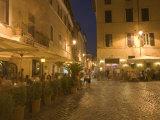 Scala Street  Trastevere  Rome  Lazio  Italy  Europe