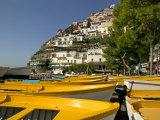 Positano  Amalfi Coast  UNESCO World Heritage Site  Campania  Italy  Europe