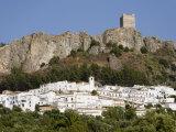 Zahara De La Sierra  One of the White Villages  Cadiz Province  Andalucia  Spain  Europe