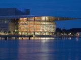 Opera House  Copenhagen  Denmark  Scandinavia  Europe