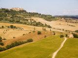 Pienza  Val D'Orcia  Tuscany  Italy  Europe