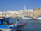 Castle and Old Town  Gallipoli  Lecce Province  Puglia  Italy  Europe