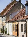Overgade and Nedergate  Area Where Hans Christian Andersen Was Born  Odense  Funen  Denmark