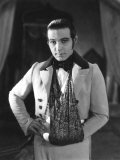 The Eagle  Rudolph Valentino  On-Set with His Arm in a Sling after an Automobile Accident  1925