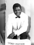 The Mark of the Hawk  Sidney Poitier at Elstree Studios  UK  January 1957