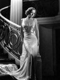 I Live My Life  Joan Crawford Wearing Evening Gown Designed by Adrian  1935