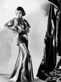Constance Bennett in Evening Gown by Designer Adrian  1935
