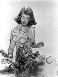 Bette Davis Arranging Flowers