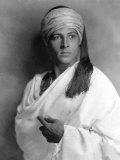 Portrait of Sheik  Rudolph Valentino  1921
