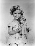 Shirley Temple with a Shirley Temple Doll  c1936