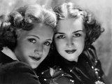 Priscilla and Rosemary Lane  c1936