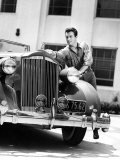 Robert Taylor and His Packard  1930s