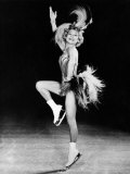 Sonja Henie Performing in Her Own Ice Show  Early 1950s