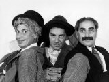 The Marx Brothers  Harpo Marx  Chico Marx  Groucho Marx  Late 1930s