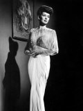 What a Woman  Rosalind Russell Wearing a Travis Banton Gown  1943