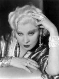 Portrait of Mae West  1930s