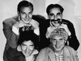 The Marx Brothers  Top Zeppo Marx  Groucho Marx  Bottom Chico Marx  Harpo Marx  Early 1930s