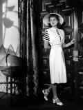 Casablanca  Ingrid Bergman Wearing a Jumper Dress Designed by Orry-Kelly  1942