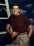 Ronald Reagan in the 1940s