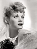 Lucille Ball Portrait with Gauze  1940&#39;s