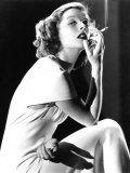 Katharine Hepburn Smoking  1930s