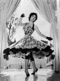 Gina Lollobrigida at Her Villa Near Rome  Italy  1956
