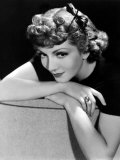 Portrait of Claudette Colbert  1936