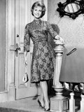 Debbie Reynolds in a Travilla-Designed Dinner Dress  1963
