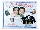 The Desk Set  Spencer Tracy  Katharine Hepburn  1957