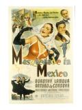 Masquerade in Mexico  Dorothy Lamour  Arturo De Cordova  Patric Knowles  1945