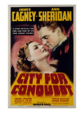 City for Conquest  Ann Sheridan  James Cagney  1940