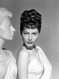 One Touch of Venus  Ava Gardner  Portrait with Greek Statue  1948