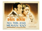 All This and Heaven Too  Charles Boyer  Bette Davis  1940