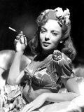 Ida Lupino  Portrait of Her Smoking