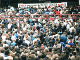 Audience Gather Outside the Wembley Arena Prior to the Michael Jackson Concert  July 15  1988