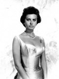 Portrait of Sophia Loren  c1959