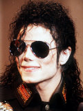 Michael Jackson Wearing Sunglasses  c1990