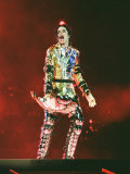 Michael Jackson on Stage in Prague  September 8  1996