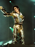 Michael Jackson on Stage in Sheffield  July 1997